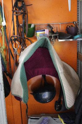 Sattelschrank Decke